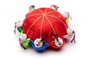 Eight Person Chinese Pin Cushion