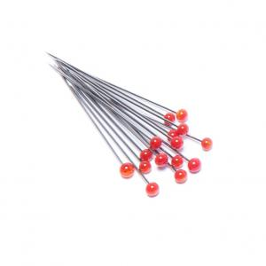 Glass Head Pins 150 Count Various Colors