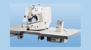 JUKI LK-1900-BNS Computer Controlled High Speed Bartacking Industrial Sewing Machine With Table and Servo Motor