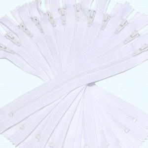 Nylon Coil Zippers, #7 white color 7