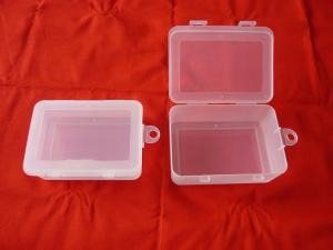Plastic Storage Boxes Clear Container Bin With Lid Hanger