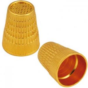 Thimbles, Zinc Alloy Gold (2 pc)