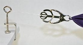 Third Hand Tool for hemming, embroidery, hand-sewing