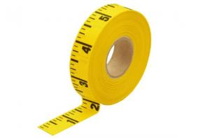Adhesive Backed Tape Measure Roll