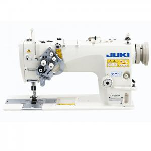 JUKI LH-3568 2 Needle Semi-Dry-Head Lockstitch Machine With Organized Split Needle Bar With Table and Servo Motor