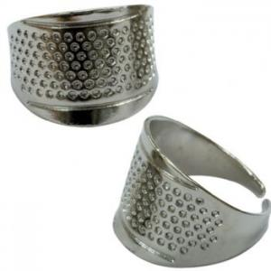 Thimble, Adustable Ring, Nickel