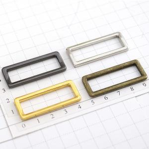 Metal Ring - Square Single Loop Ring