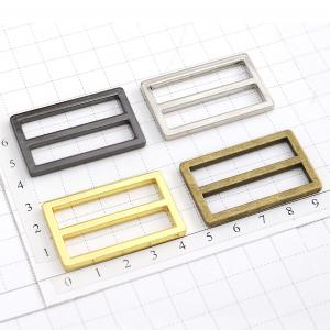 Metal Buckle - Square Double Loop