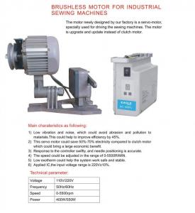Brushless DC Servo Motor For Industrial Sewing Machines