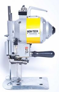 "6/"" High-Speed Straight-Knife Cloth-Cutting Machine,AUTOMATIC SHARPENER 110V USA"