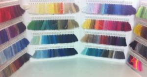 Thread Color Chart with 400 Thread Samples