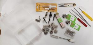 Deluxe Spare Parts Kit for Industrial Lockstitch Sewing Machines