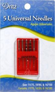 Universal and Ball Point Needles by Dritz (8/pack)