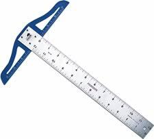 Fairgate Heavy Duty Aluminum T-Square Ruler