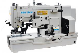 New-Tech GC-783DT 1 Needle Lockstitch Buttonholing Direct Drive Industrial Sewing Machine With Table and Servo Motor