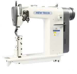 New-Tech GC-8810 Direct-Drive High-Speed Single Needle Post Bed Lockstitch Industrial Sewing Machine With Table and Servo Motor