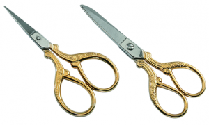 Gold Plated Embroidery Scissors