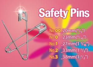 Assorted Size ​All Steel Safety Pins