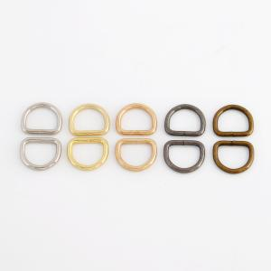 Welded Metal Ring - D-Ring