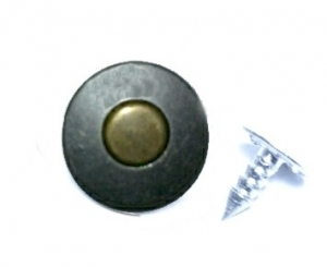 Rivets - Jean Button - Brass Construction
