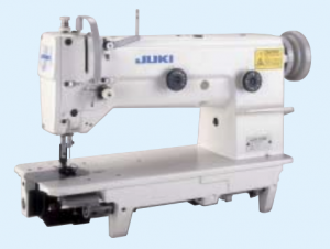 Juki LZH-1290 1-Needle Lockstitch 8mm Zigzag Large Hook Industrial Sewing Machine With Table and Servo Motor