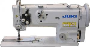 JUKI LU-1508NH Extra Heavy Duty Single Needle Unison Feed Lock Stitch Machine With Vertical-axis Large Hook, Table, and Servo Motor