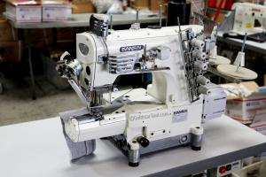 Kansai Special NR-9803GCC-UTE 3-Needle Cylinder Bed Direct Drive Coverstitch Industrial Sewing Machine