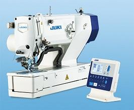 JUKI LBH-1790 Electronic Buttonhole Sewing Machine With Table And Servo Motor