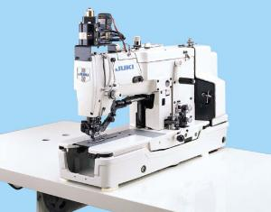 JUKI LBH-783 1 Needle Lockstitch Buttonholing Industrial Sewing Machine With Table and Servo Motor