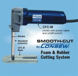 Consew - CFC Smooth Cut Foam & Rubber Cutting System