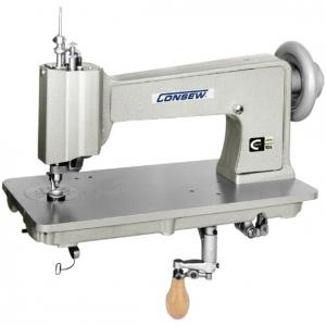 CONSEW 104-1T Manual Embroidery and Quilting Chainstitch Sewing Machine With Table