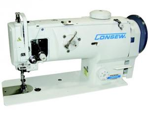 ​Consew Premier 1541S-CC Drop Feed Needle Feed  Walking Foot  Lockstitch Industrial Sewing Machine With Table and Servo Motor​