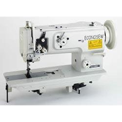 Econonsew LU-1508NS Heavy Duty Walking Foot Lockstitch Industrial Sewing Machine With Table and Servo Motor