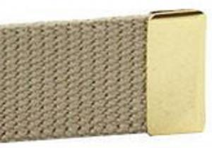 Brass Belt Buckle End Tip