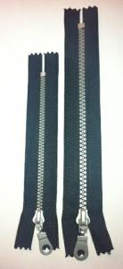 MOLDED zippers, BLACK 5