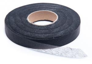 No-Sew Hem Tape (stitch witchery) for clothes, curtains & more BLACK OR WHITE (Choose size)