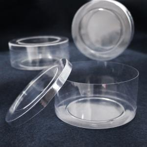 Clear Round Plastic Containers (Choose Your Size)