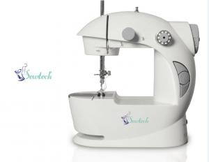 Sewtech Portable Mini 2-speed Sewing Machine w/Foot Petal