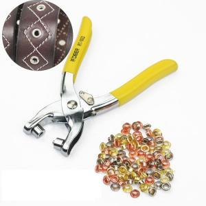 Professional Eyelet Grommet Setting Tool Kit