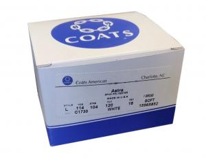 Coats Astra Spun Bobbins Size L (144 Bobbins)