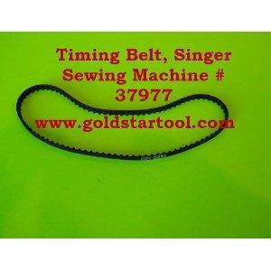Timing Belt, Singer Sewing Machine # 37977