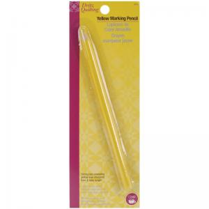 Dritz Yellow Fabric Marking Pencil Great for Quilting