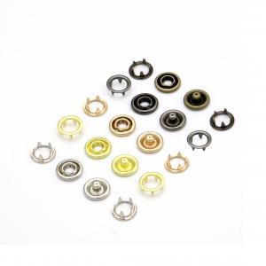 Metal Open Ring Prong Ring Snaps