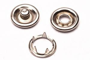 Metal Open Ring Prong Ring Snaps