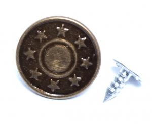 Rivets - Jean Button - Star Design