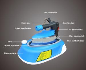 New-Tech - Split Type Industrial Electric Steam Iron