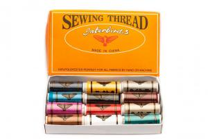 All Purpose Polyester Thread ASSORTED (12 pack/110 yards per spool)