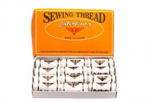 All Purpose #40S/2 100% Polyester Machine Thread ​Thread Kit 110 Yards​ (12 Pack)