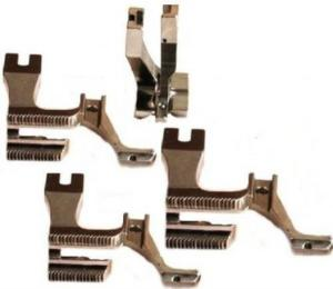 Welting / Piping / Cording With Groove Walking Presser Foot Set #U192LC, 193KU 