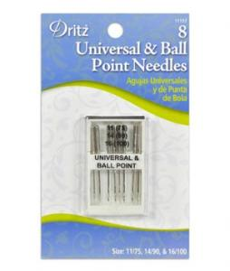 Dritz Needles Universal and Ball Point (8 pack)
